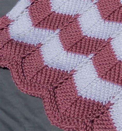 chevron knit pattern chevron quilt knitting pattern a knitting