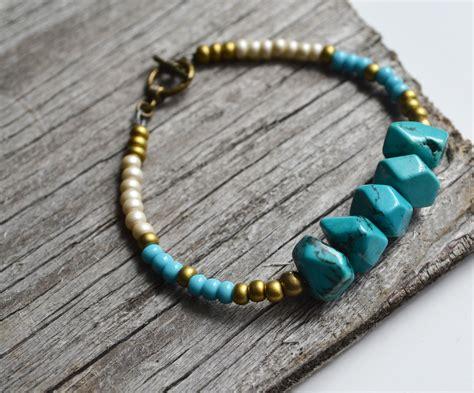 beaded bracelets tribal bracelet turquoise beaded bracelet turquoise