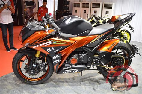Modifikasi Motor Cbr by Gambar Modifikasi Motor Honda All New Cbr 150 R 2016