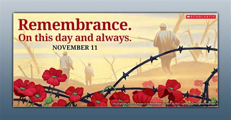 remembrance day picture books scholastic canada open a world of possible