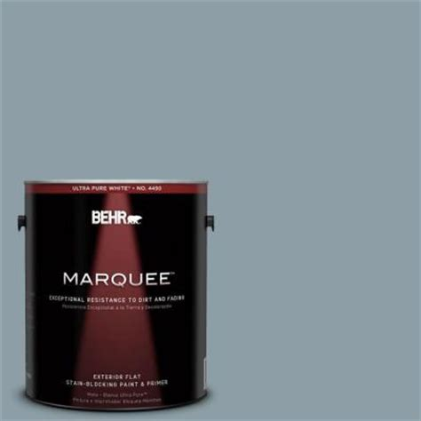 home depot behr marquee paint colors behr marquee 1 gal 540f 4 shale gray flat exterior paint