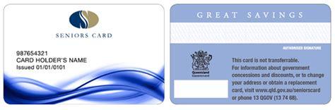 how to make senior citizen card applying for a seniors card seniors queensland government