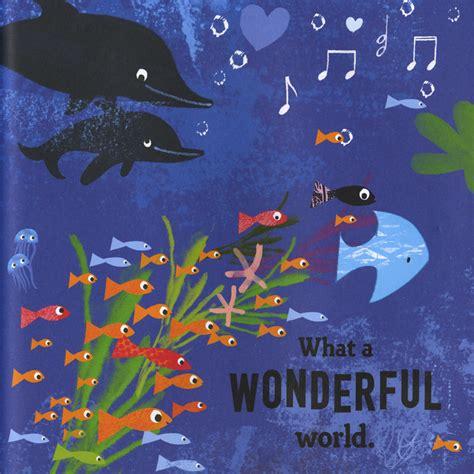 wonderful world what a wonderful world bob thiele macmillan