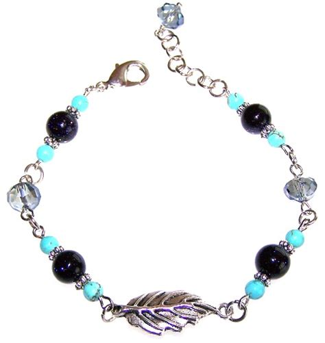 bead necklace kits falling leaves bracelet beaded jewelry kit