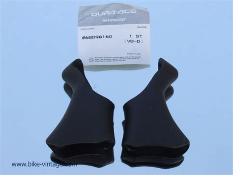 rubber st gallery shimano dura ace shifter brake rubber hoods st 7700 new