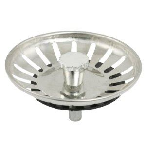 kitchen sink plugs strainers uxcell 174 3 quot dia stainless steel kitchen sink strainer drain