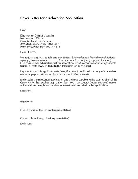 10 relocation cover letter examples for resume writing