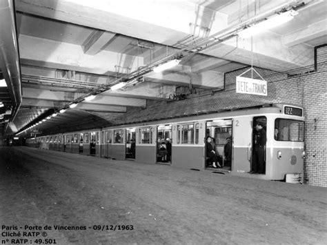 m 233 tro porte de vincennes ligne 1 09 12 1963 ratp