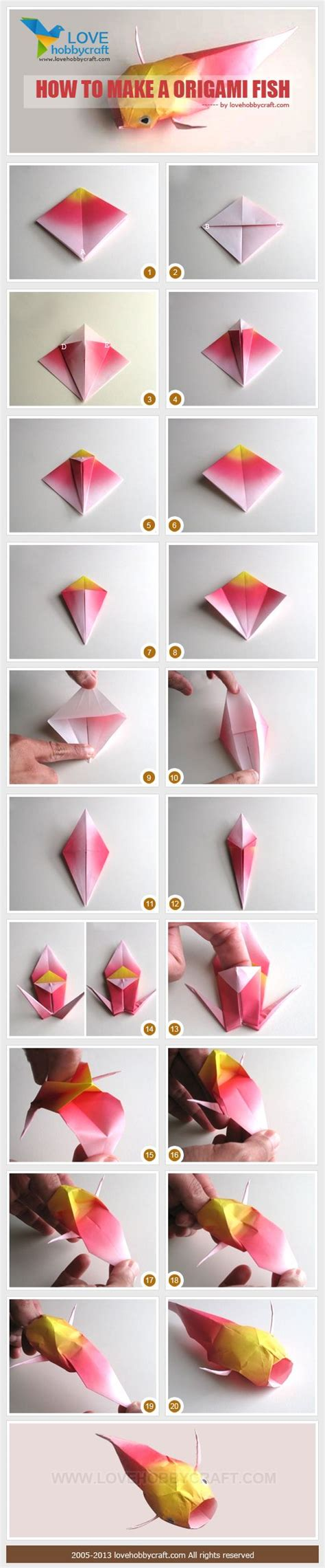 how to make 3d origami fish 25 best ideas about origami fish on origami
