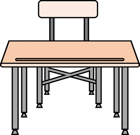 office desk clipart clipart an empty desk