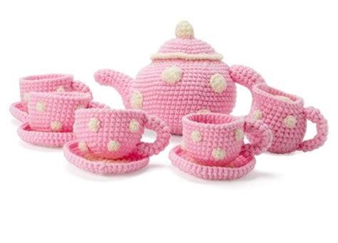 knitted tea set pattern knitted tea set knitting and crochet tea