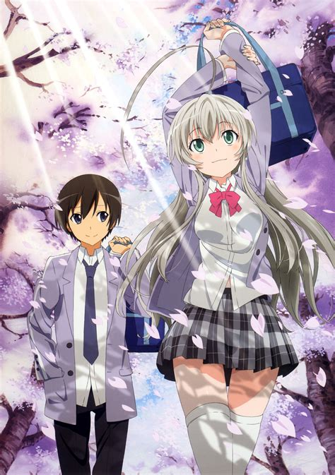 haiyore nyaruko san haiyore nyaruko san nyaruko crawling with