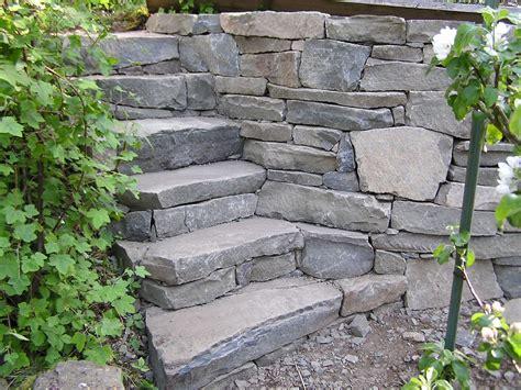 garden wall stones pare drystack stairs and garden wall cedar