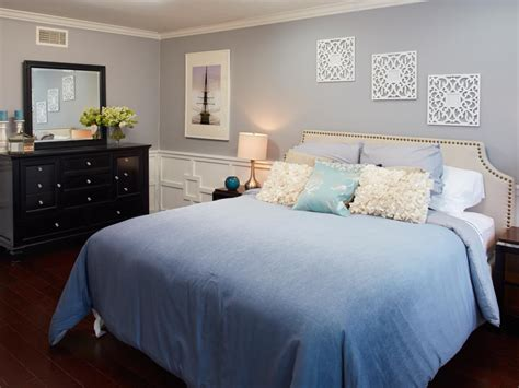Hgtv Bedroom Makeover Blue Contemporary Master Bedroom Photos Hgtv