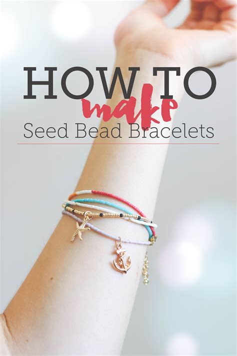 how to make a seed bead bracelet how to make seed bead bracelets free tutorial on craftsy