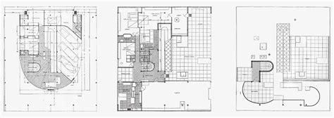 savoy floor plan le corbusier villa savoye part 2 architecture
