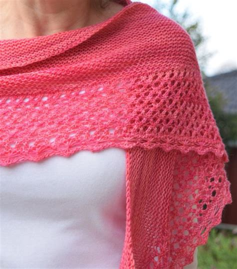 25 Best Ideas About Crescent Shawl On Knit