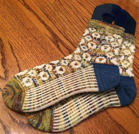 knitting colorwork fo colorwork sheep socks knitting