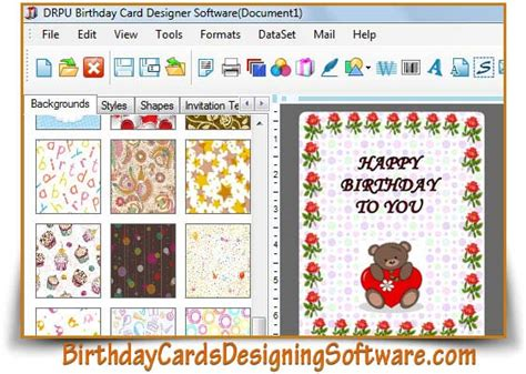 software for cards and invitations birthday cards designing software design print invitations