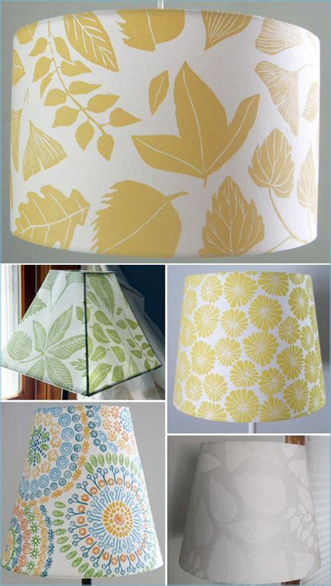 decoupage lshade with fabric 17 best ideas about l shades on