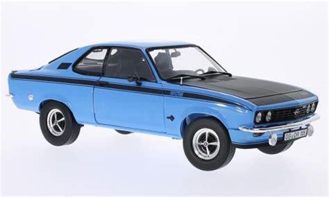 Opel Manta Gt by Opel Manta A Miniature Gt E Bleu 1975 Norev 1 18 Voiture