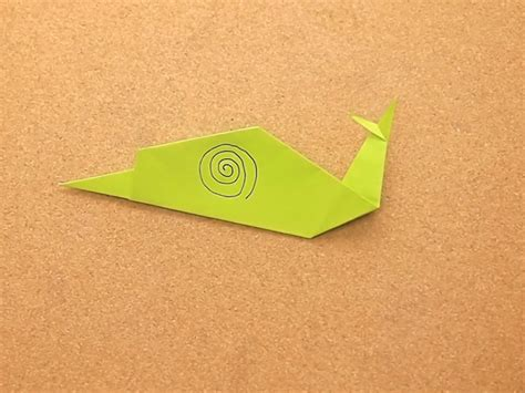origami snail how to make an origami snail 12 steps with pictures