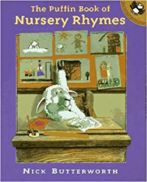 picture puffin books nursery rhymes the puffin book of picture puffins nick