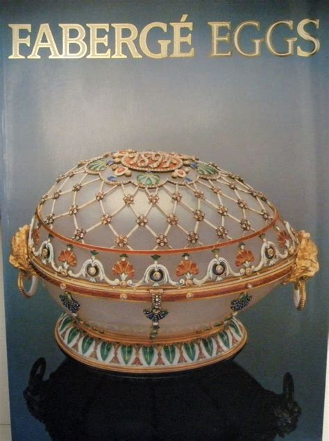 faberge egg picture book books eggshell artistry gallery