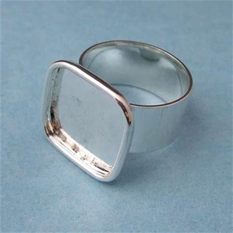 silver ring blanks jewelry silver plated ring blanks