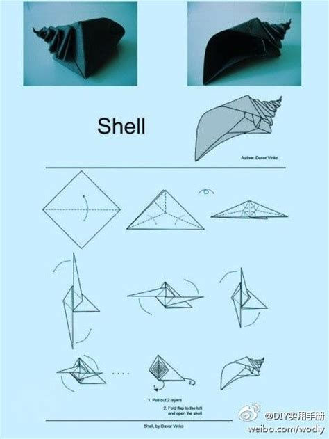 Conch Origami Stuff To Try Conch Shells
