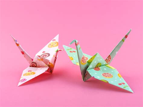 paper origami crane omiyage blogs make origami cranes