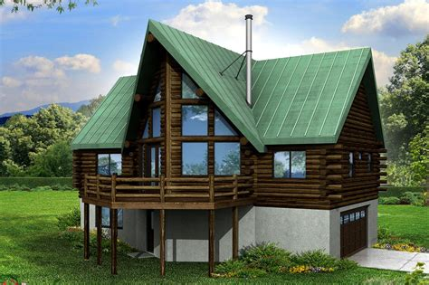 a frame house plans with garage a frame house plans eagle rock 30 919 associated designs