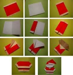 how to make a santa origami wonderful diy mini origami santa