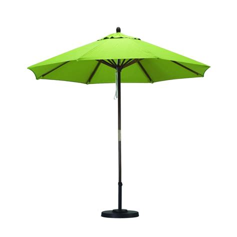 market patio umbrella shop california umbrella sunline lime green market patio