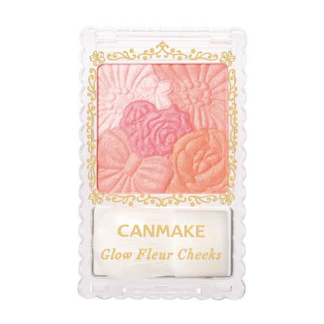 can make fall 2013 blushers from canmake cezanne guerlain