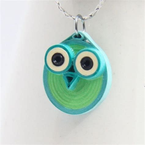 quilled jewelry tutorials step by step paper quilled owl pendants 183 how to make a paper bead