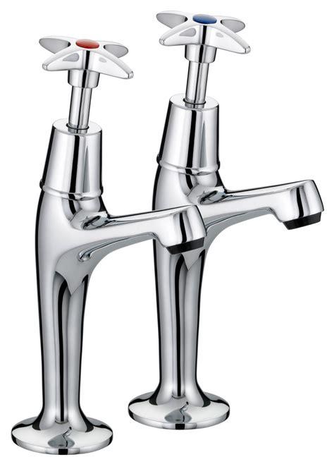 kitchen sink pillar taps bristan value x high neck pillar kitchen sink taps