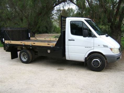 2006 Dodge Sprinter by 2006 Dodge Sprinter 3500 Cab Chassis Flatbed