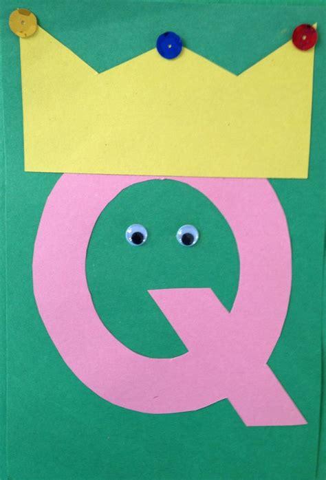 crafts for kindergarten letter q crafts preschool and kindergarten
