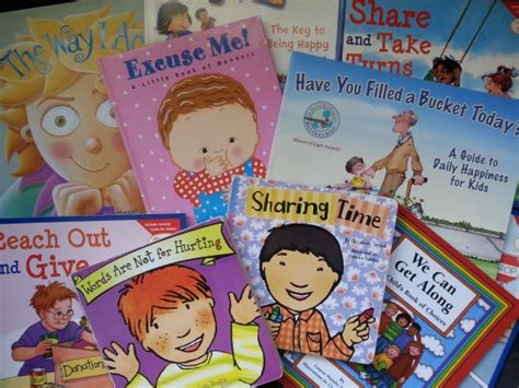 picture books to teach characterization 30 recommended character education books for