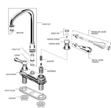kitchen sink repair parts 25 best ideas about kitchen faucet parts on