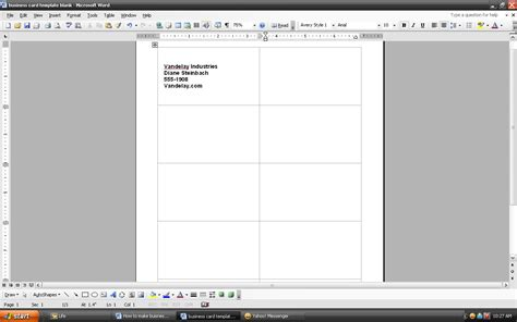 make business cards microsoft word how to make business cards using microsoft word ehow uk