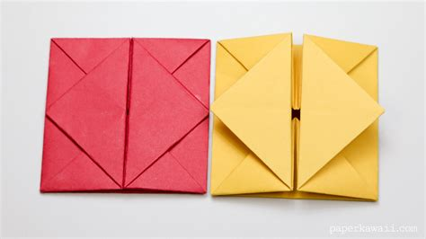 origami simple envelope origami envelope box paper kawaii