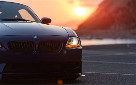 Car Sunset Wallpaper by Bmw Car Sunset Bmw Z4 Wallpapers Hd Desktop And