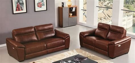 recliner leather sofa set leather power recliner sofa