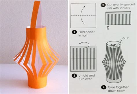 how to craft a paper how to make a paper lantern arts crafts and diy