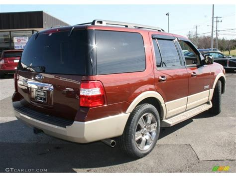 2007 Ford Expedition by 2007 Copper Metallic Ford Expedition Eddie Bauer 4x4