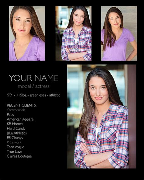how to make comp cards 5 zed comp card design preparing your headshot for