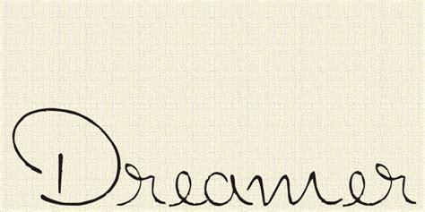 dreamer schriftart dafont com
