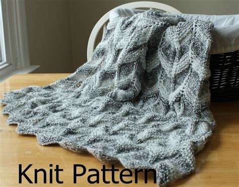 knitted ripple baby blanket knit pattern baby blanket pattern easy ripple chevron